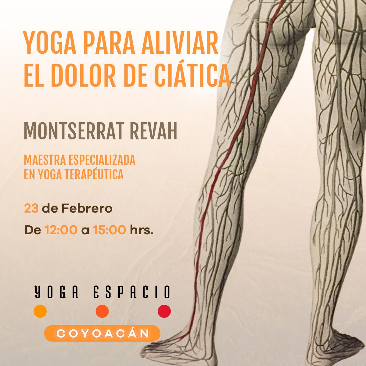 Yoga para aliviar el dolor de la ci tica yoga espacio - Espacio para el yoga ...